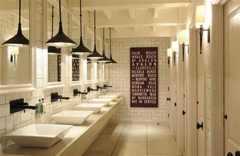 restaurant bathroom layout decoraci 243 n de ba 241 os para restaurantes cafeter 237 as bares