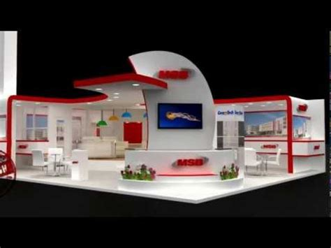 sketchup booth design tutorial exhibition stand design masa 3d stand animation doovi