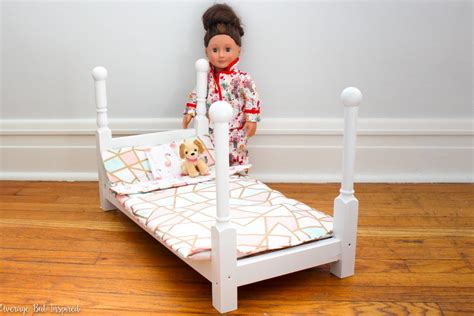 how to make an american girl doll bed how to make an american girl doll bed for under 20