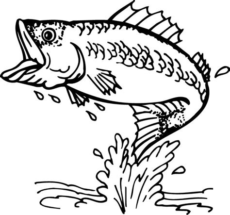 fishing coloring pages fly fishing clip free clipart best