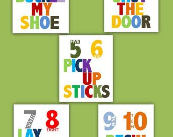 One Two Buckle Shoe Three Four Shut The Door by Clip For Three Four Shut The Door Clipart Clipart
