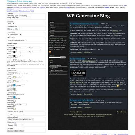 wordpress themes erstellen generator great wordpress wysiwyg editors reviewed