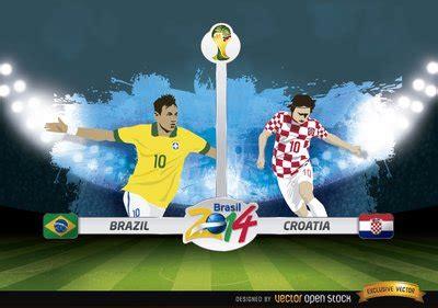 brazil vs croatia brazili 235 vs kroati 235 overeenkomen met brazili 235 2014