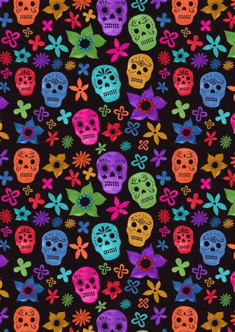 iphone wallpaper girly skull black background sugar skulls iphone galaxy tab