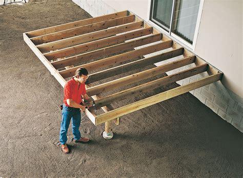 Joist Hangers For Decks by Diy Deck Overview