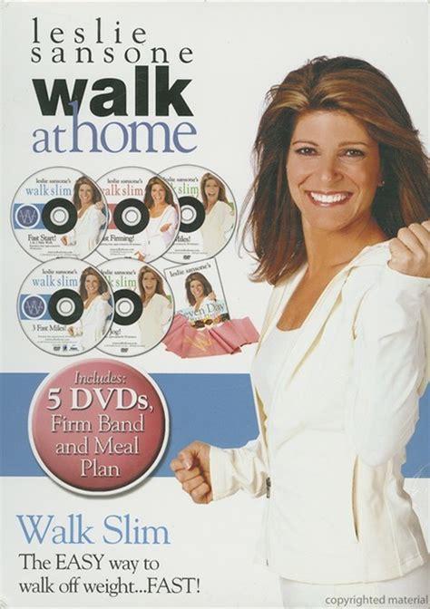 leslie sansone walk at home walk slim kit dvd dvd