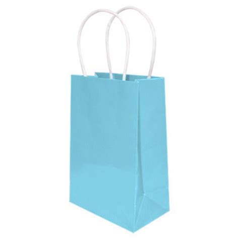 Small Gift Bag Light Blue Gift Bags Paper Amols