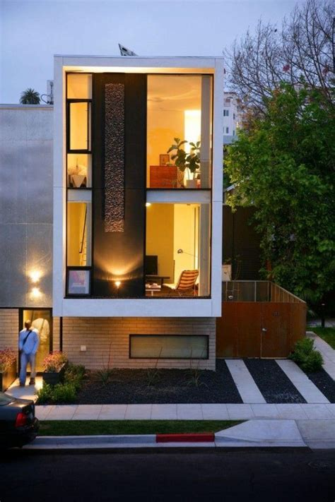 amazing narrow house facades      project
