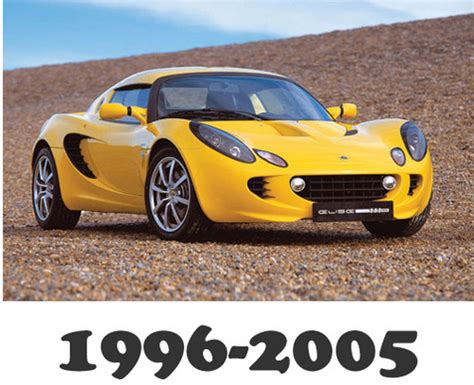 lotus elise 1996 2005 service repair manual download download man