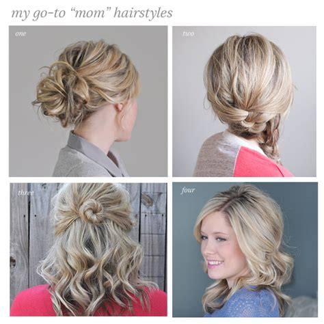 casual hairstyles with clips my go to casual hairstyles the small things blog