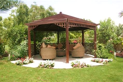 Gazebo Patio Ideas Relax Hexagon Gazebo Ideas