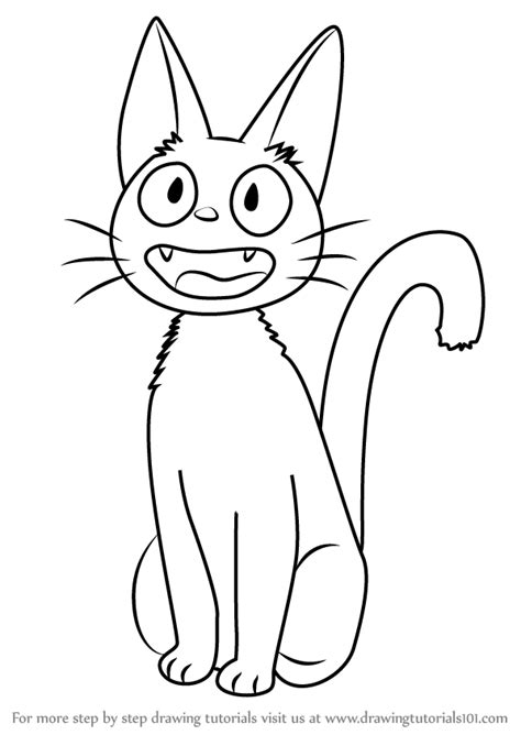 how to service learn how to draw jiji from s delivery service s delivery service step by
