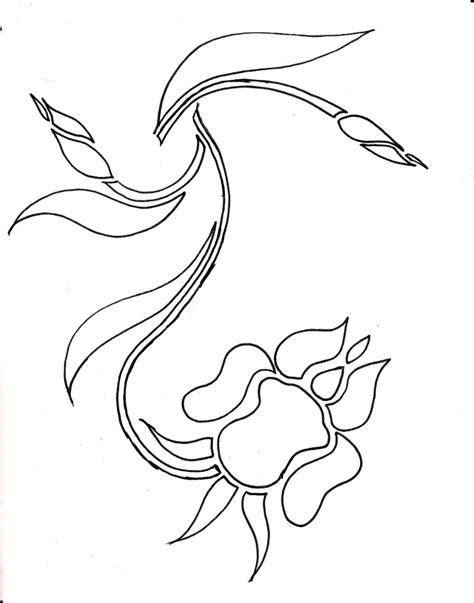Iris Outline by Top Iris Petal Outline Images For Tattoos