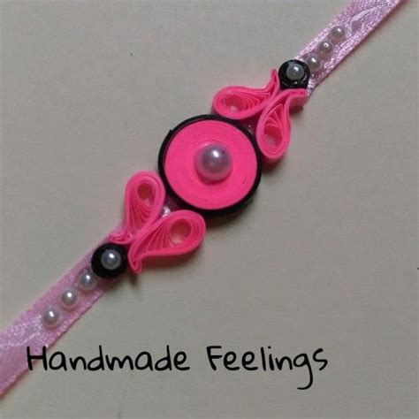 How To Make Rakhi With Paper - 25 best ideas about rakhi on quilling rakhi