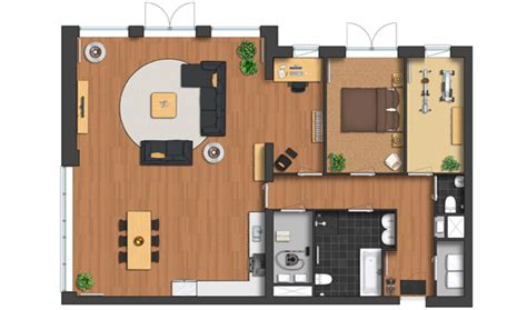 House Floor Plan Samples plan symbols colorful top view images basic collection