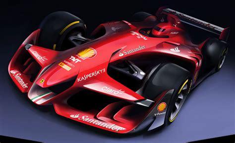 ferrari prototype f1 ferrari unveils its vision of future f1 car design 183 f1