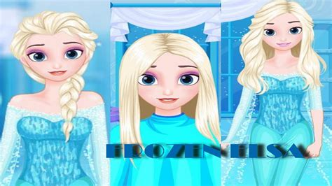 design games elsa frozen princess elsa games frozen hairstyle design game