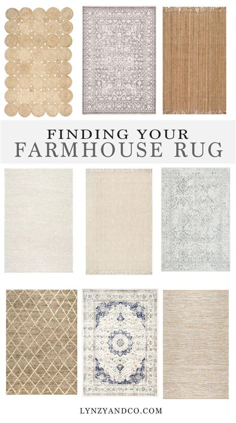 Farmhouse Style Kitchen Rugs by Finding The Farmhouse Rug Lynzy Co