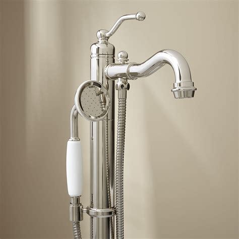 bathtub faucet with handheld shower head handheld shower head chrome single function handheld