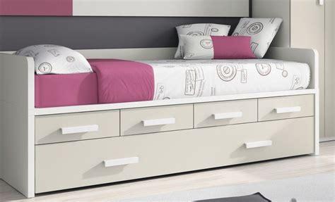 camas compactas  cama nido randa cama nido  cajones