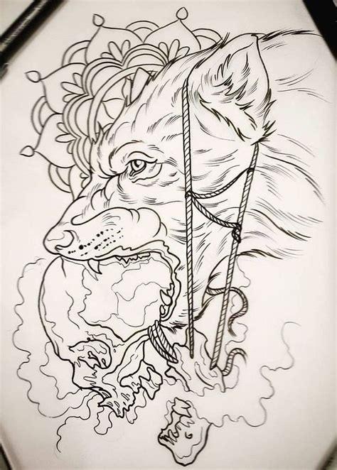 tattoo animal drawings the 25 best wolf tattoo design ideas on pinterest wolf