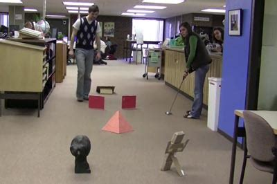 Office Golf by 301 Moved Permanently