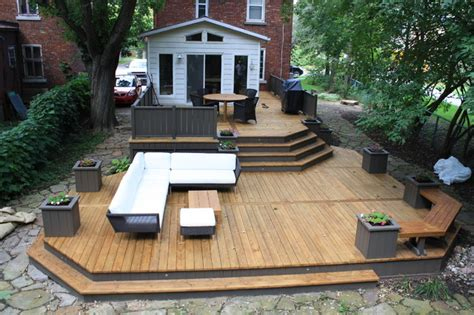 Deck And Patio Design Patio Deck Designs 174 New 2013 Contemporary Deck Montreal By Patio Deck
