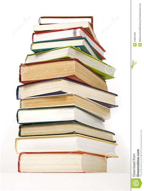 difficult books stack of books cover stock photos image 14851943