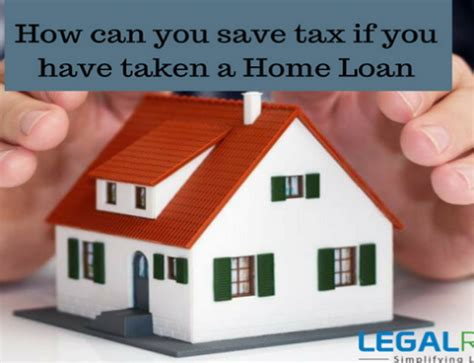 tax saving on housing loan tax on house property income rental sop income legalraasta