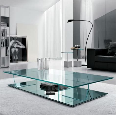 modern glass furniture top 4 modern glass coffee tables