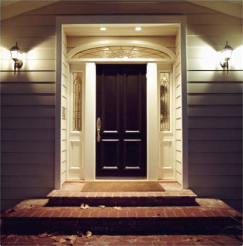 Doors Light by Front Door Lighting Ideas