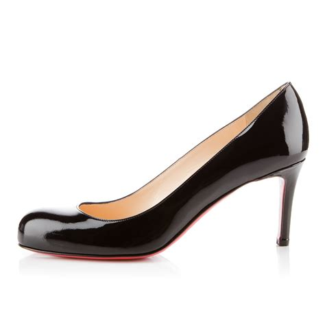 Patent Pumps christian louboutin simple 70 patent leather pumps cost