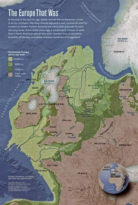 ice age maps showing  extent   ice sheets