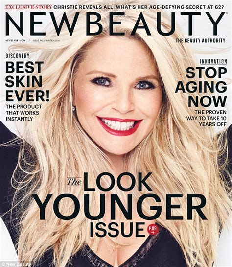 are there any magazines beauty for the over 70 women christie brinkley reveals the secrets to maintaining her