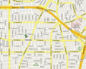 glendale directions 818 896 2245 directions and map