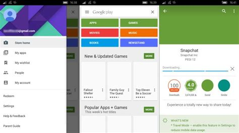 some cool android apps you should load the xda members found a way to side load play services on windows 10 mobile gsmarena