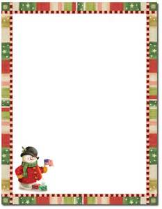Decorative Paper Clips Patriotic Snowman Holiday Stationery 8 1 2 X 11 80
