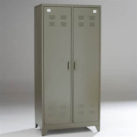 Armoir En Metal armoire la redoute armoire vestiaire m 233 tal 2 portes
