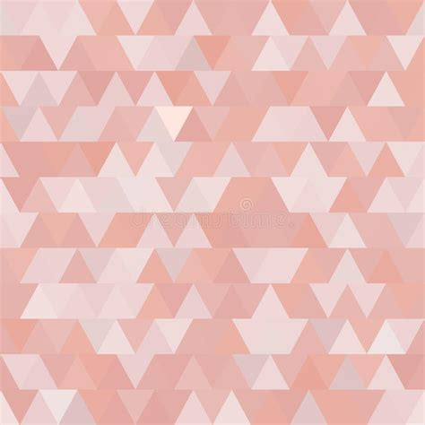 pattern pink soft soft pink vector seamless pattern with triangles abstract