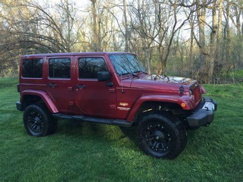 burgundy jeep wrangler 2 door 2012 jeep wrangler lifted modified unlimited sahara 4 door