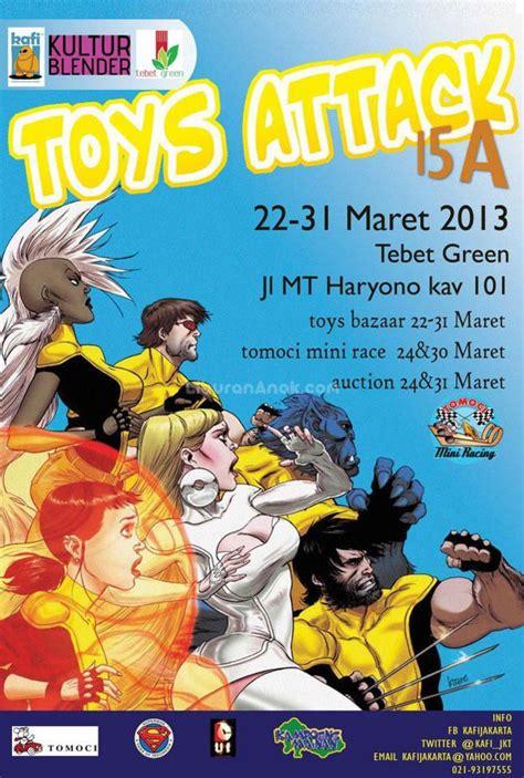 Bazaar Mainan toys attack parents events liburan anak