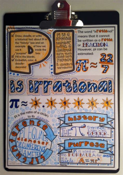 math doodle ideas pi doodle notes for pi day or anytime circles