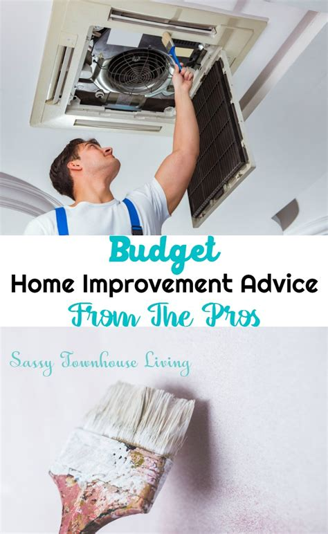 budget home improvement advice from the pros
