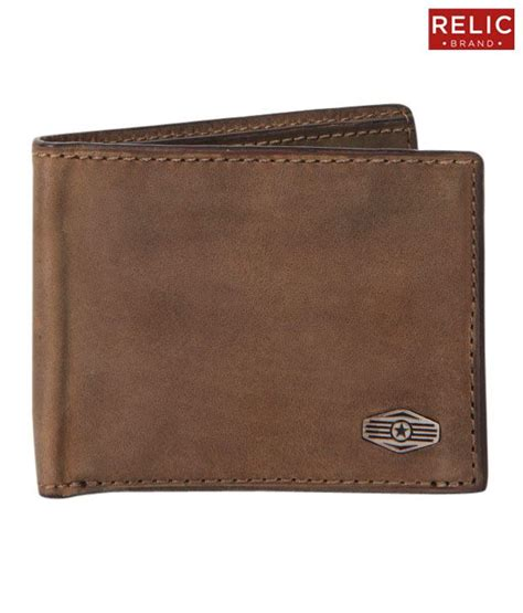 light brown leather wallet relic light brown leather wallet buy at low price
