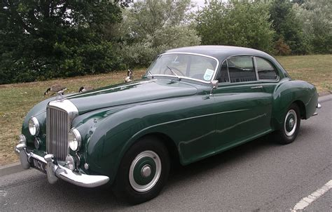 classic bentley coupe a 1954 bentley to make you weep over today s suvs wired