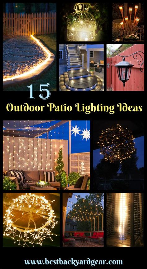 outdoor patio lighting ideas 15 outdoor patio lighting ideas that ll enhance your