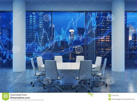 Vip Room Manhattan by Panoramic Conference Room In Modern Office Cityscape Of
