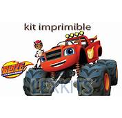 Kit Imprimible Blaze And The Monster Machines  Bs 2000