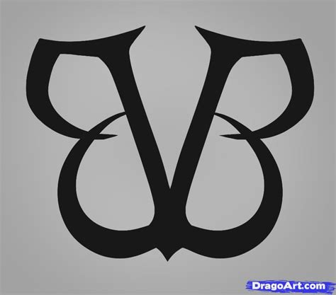 how to draw black veil brides black veil brides logo