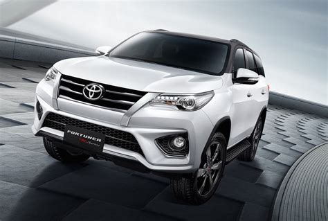Bodykit Toyota Fortuner 11 14 Trd Thailand Style toyota fortuner trd sportivo package announced